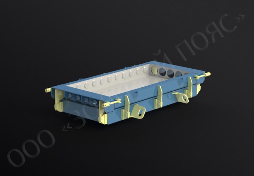 Форма плиты перекрытия ПК 23-10