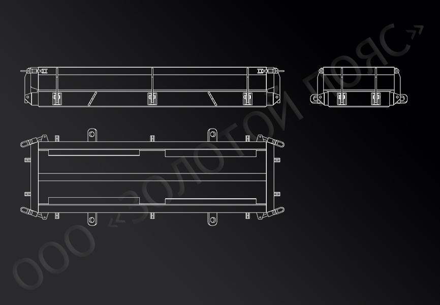 Форма балок БЛ-1