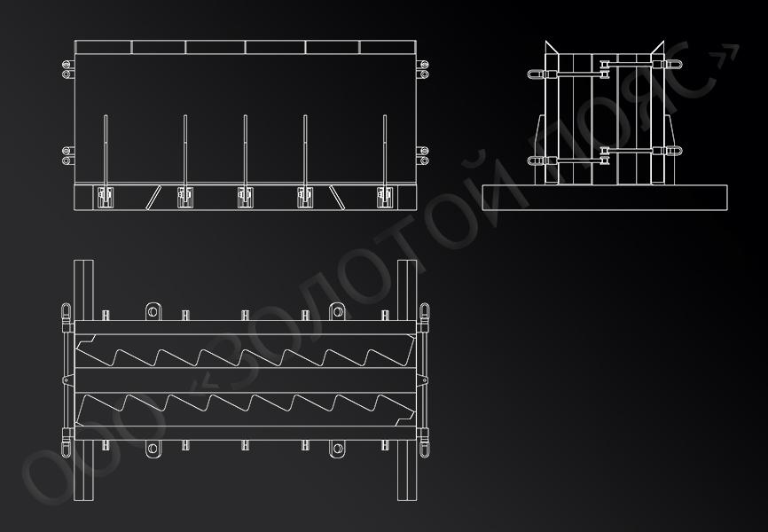 Металлоформа для вертикальной формовки 1ЛМ 27.11.14-4