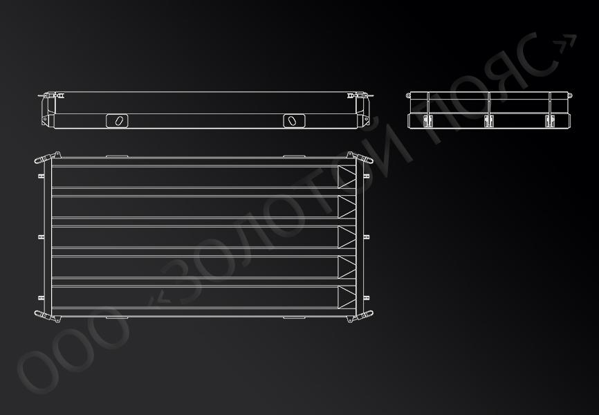 Металлоформа для свай С40.30