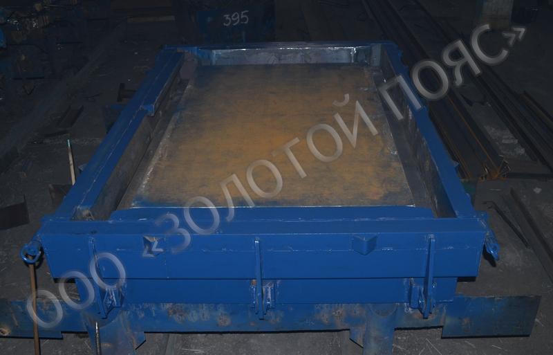 Металлоформа лестничной площадки 2ЛП25.18-4-к