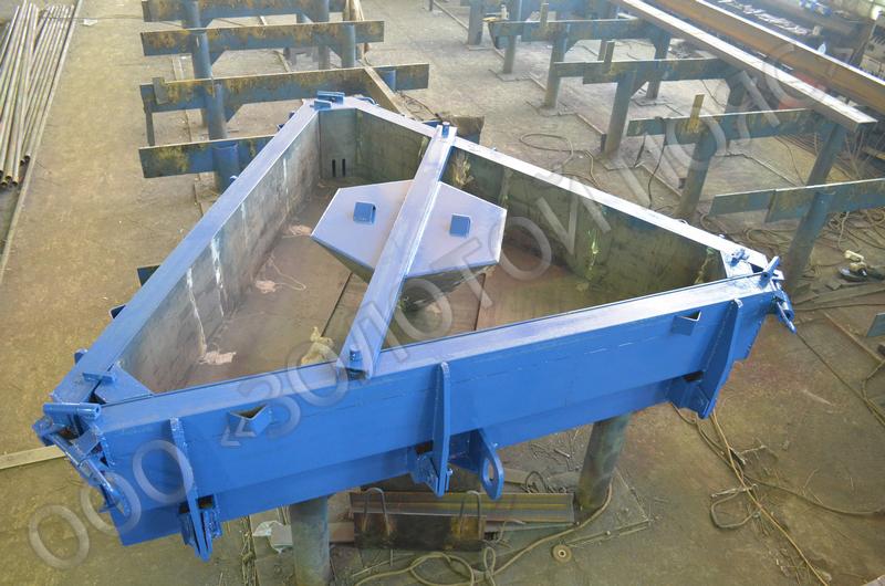 Металлоформа анкерной плиты АП-1