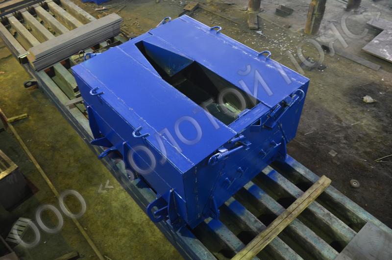 Металлоформа контурного блока 1К12.15