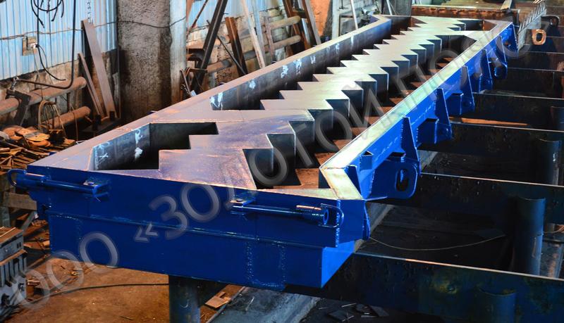 Металлоформа косоура КЛ-610.210 на 2 изделия