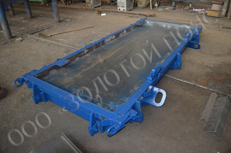 Металлоформа плиты ограждения лоджий ОЛ-3
