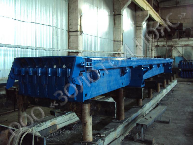 Металлоформы многопустотных панелей перекрытия