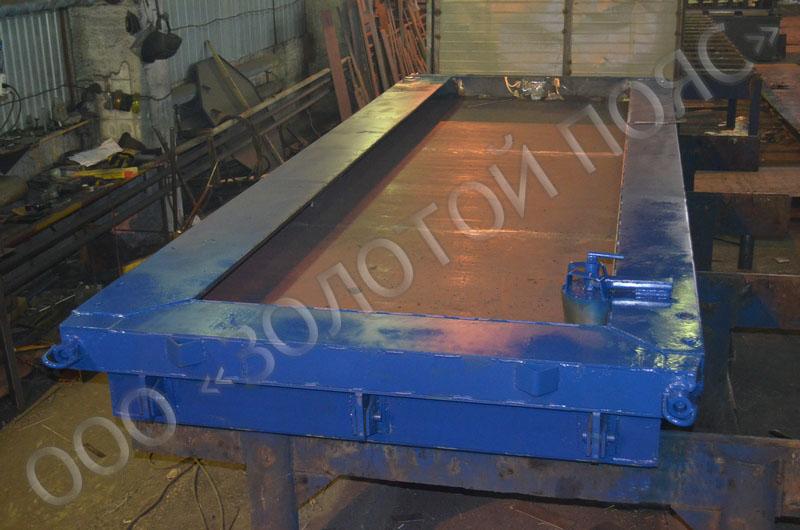 Металлоформа плиты ПП-8