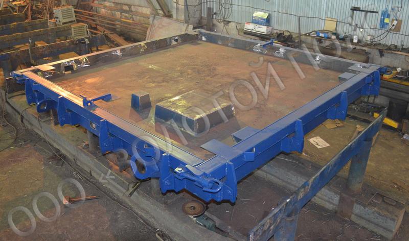 Металлоформа плиты ПШЛ3
