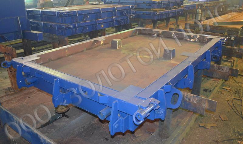 Металлоформа плиты ПШЛ7